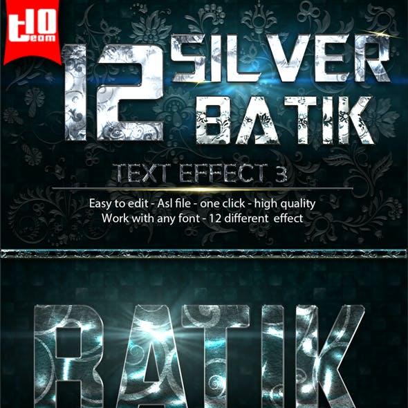 12 Silver Batik 3