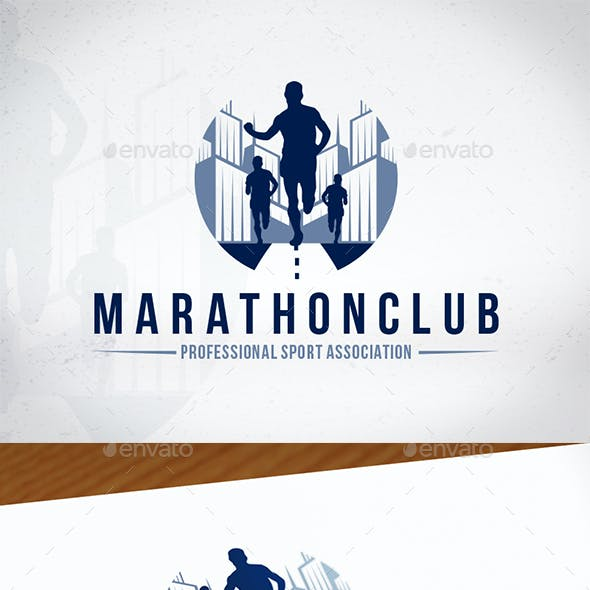 Marathon Club Logo Design