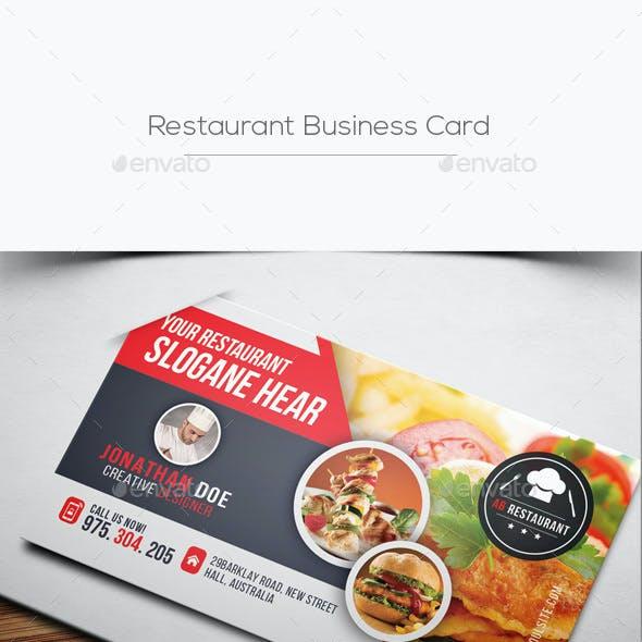 Compre sua arte para Cartão de Visita Restaurante personalizado