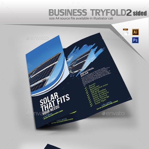 Solar Tri Fold Brochure
