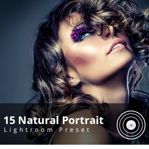 15 Natural Portrait Lightroom Preset