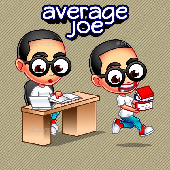 Average Joe Books Set