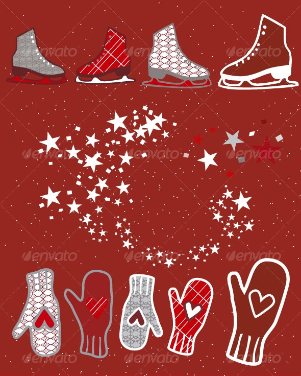 Christmas Elements - Christmas Seasons/Holidays