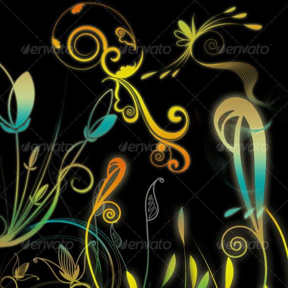 Fantasy Floral Vectors