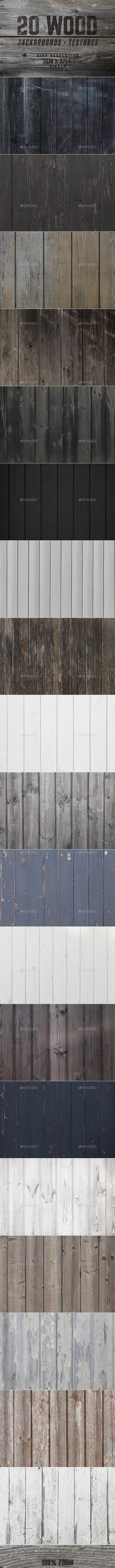 20 Beautiful Wood Backgrounds / Textures - Wood Textures
