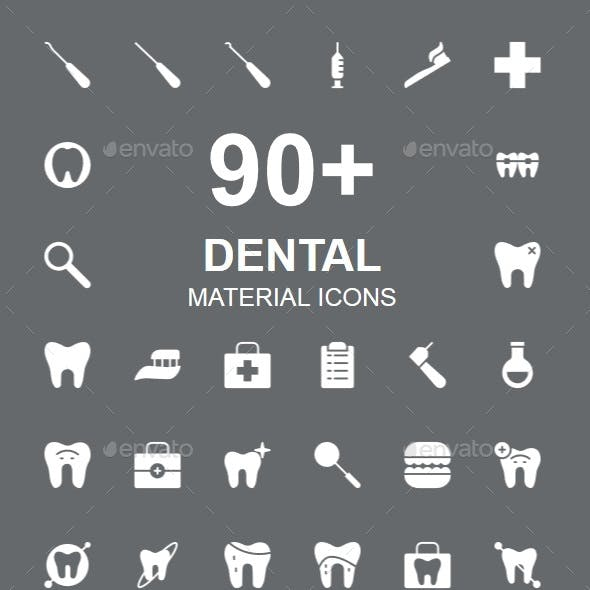 Dental Material Icons