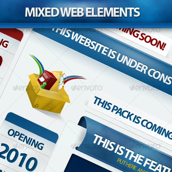 MIXED WEB ELEMENTS