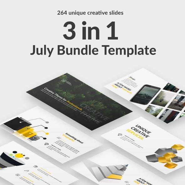 July Bundle Google Slide Template