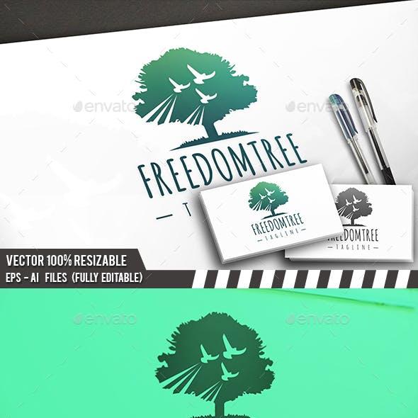 Freedom Tree Birds Logo