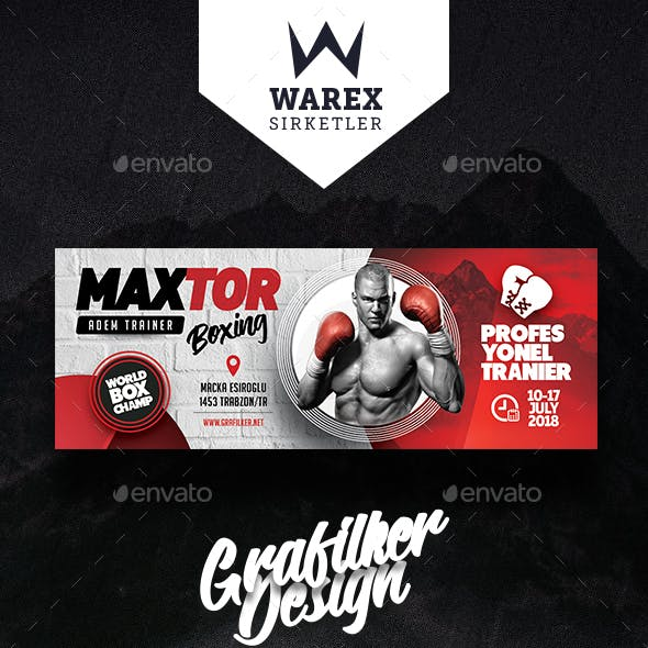 Boxing Scholl Cover Templates
