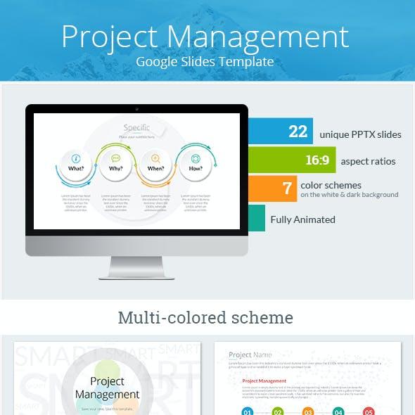 Project Management Google Slides Template