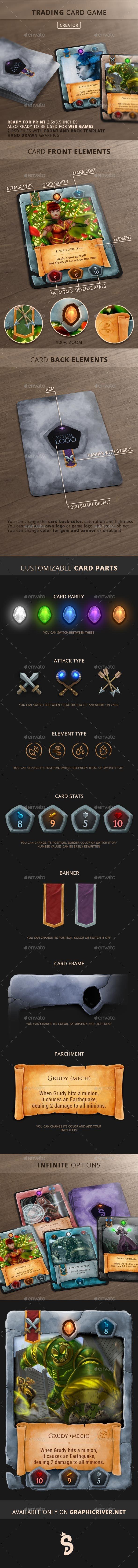Trading Card Game - Creator