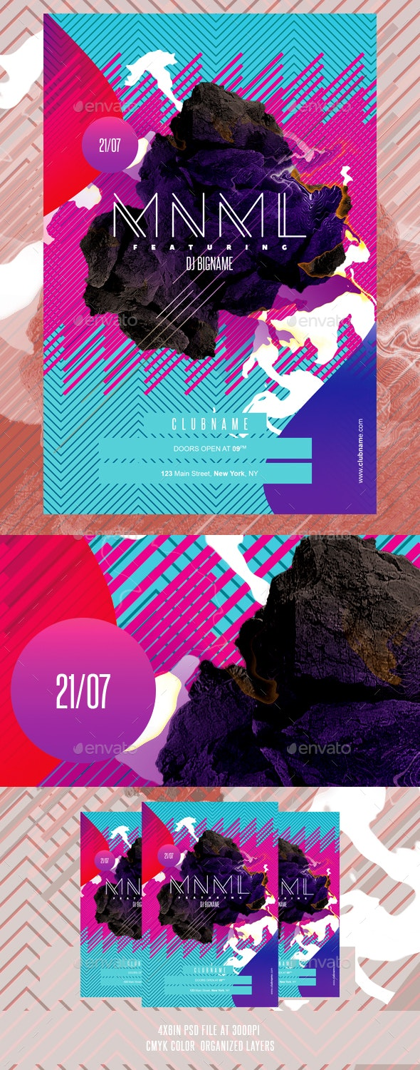 Abstract Flyer Template - Events Flyers