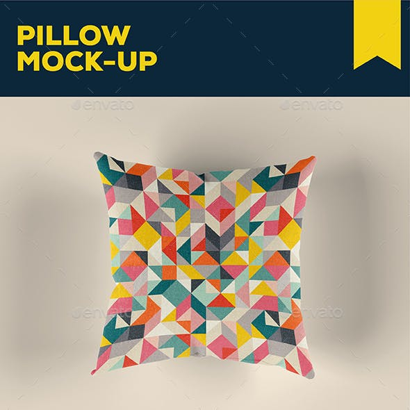Pillow Mock Up Template