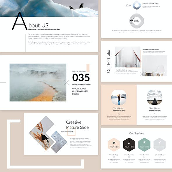 iQue - PowerPoint Presentation Template