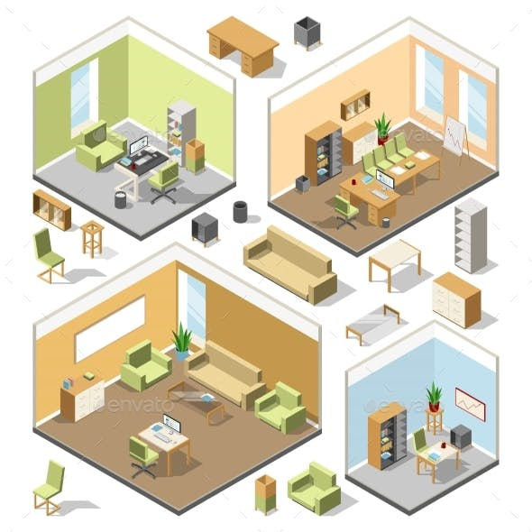 Different Isometric Workspaces with Sectional