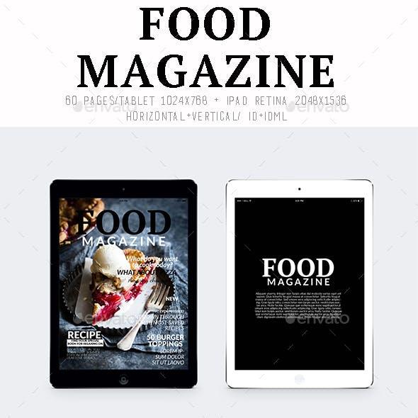Ipad&Tablet Food Magazine