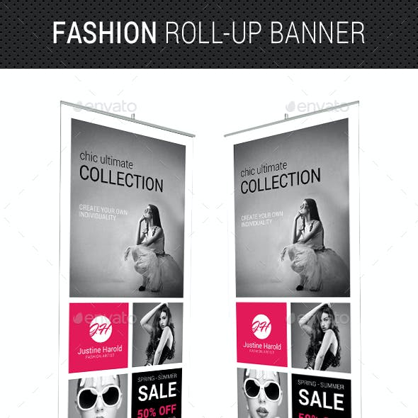 Fashion Roll-Up Banner 04