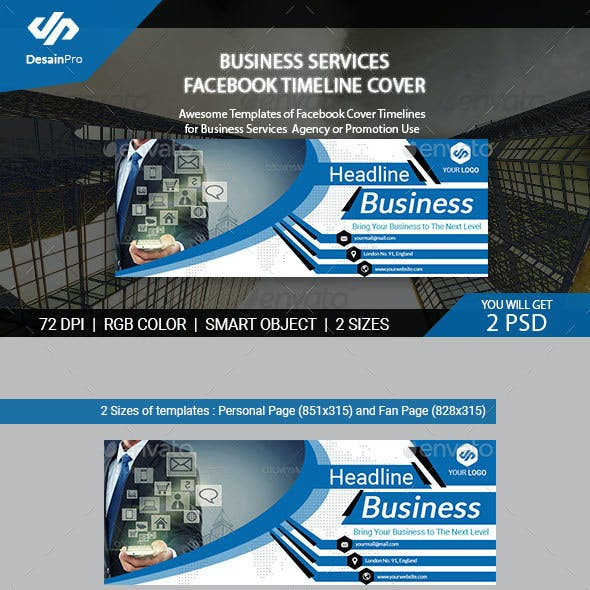 Corporate Facebook Timeline Covers from GraphicRiver (Page 42)