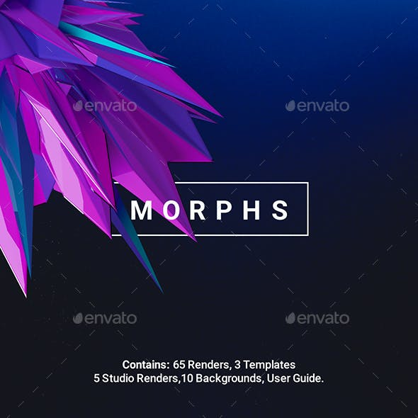 Morphs - Abstract Renders Toolkit