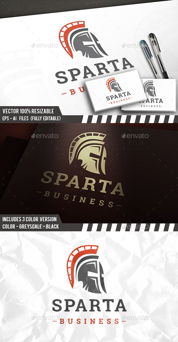 Spartan Head Logo - Sports Logo Templates