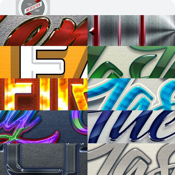 Text Layer Styles - Variety Pack 2