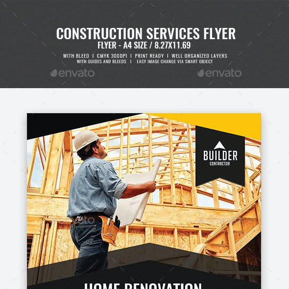 Construction and Building Flyer v4