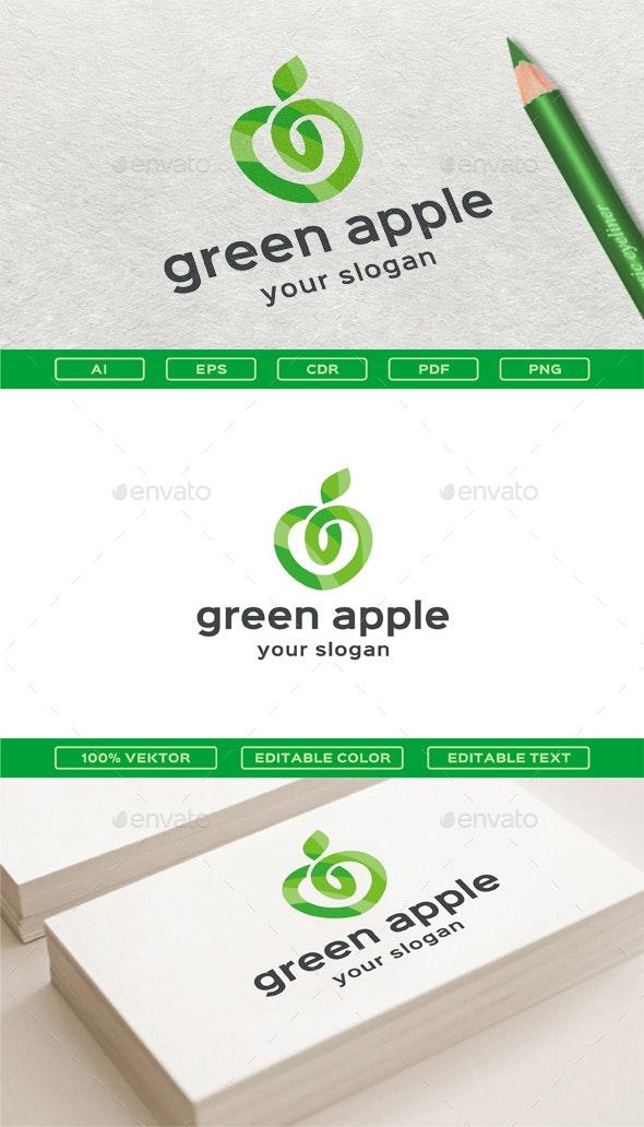 Green Apple - Nature Logo Templates