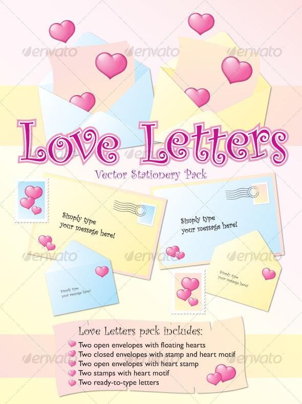 Love Letters - Valentines Seasons/Holidays