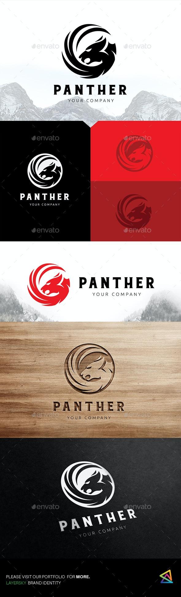 Panter Logo - Animals Logo Templates
