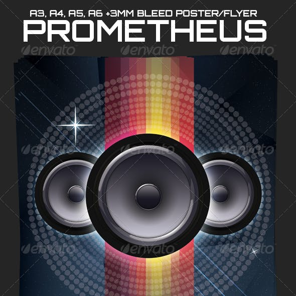 Prometheus Poster and Flyer