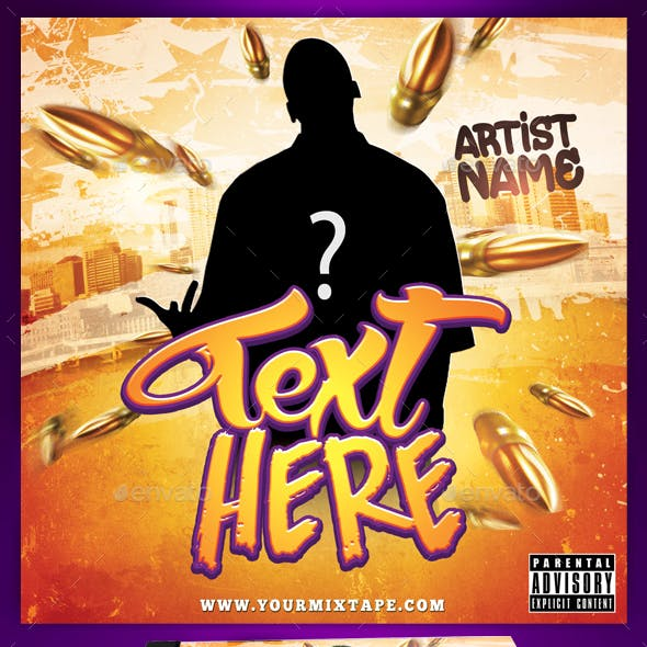 Hip Hop Mixtape / CD Cover Template