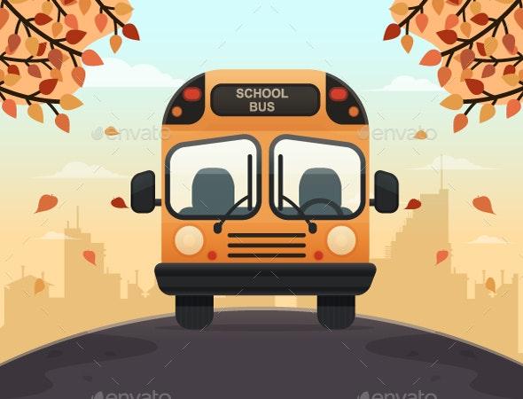 School Bus - Miscellaneous Vectors