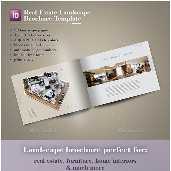 Real Estate Landscape Brochure