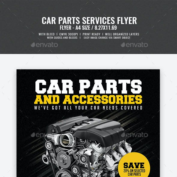Car Parts and Accessories Flyer v2
