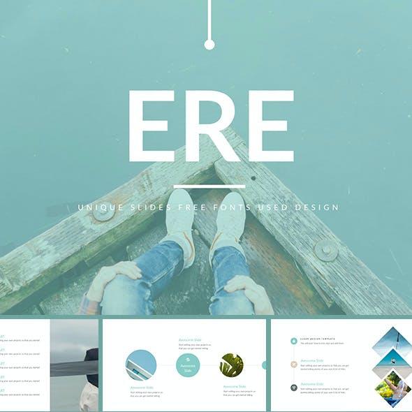 ERE - Modern PowerPoint Template