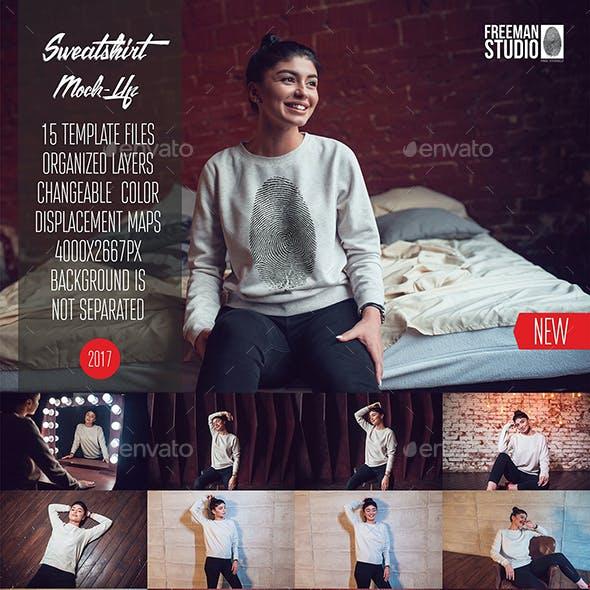 Sweatshirt Mock-Up Vol.7 2017
