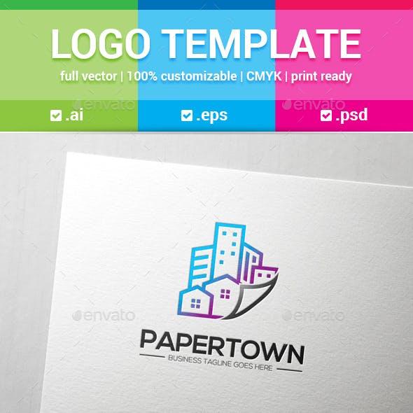 Paper Town Logo