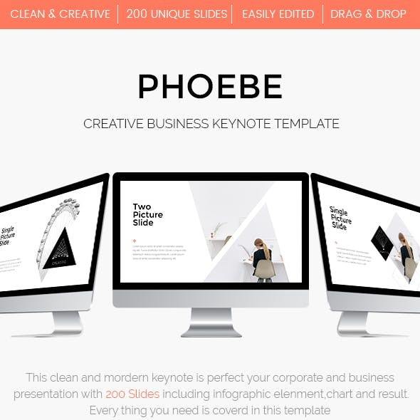 Phoebe  - Creative Keynote Template
