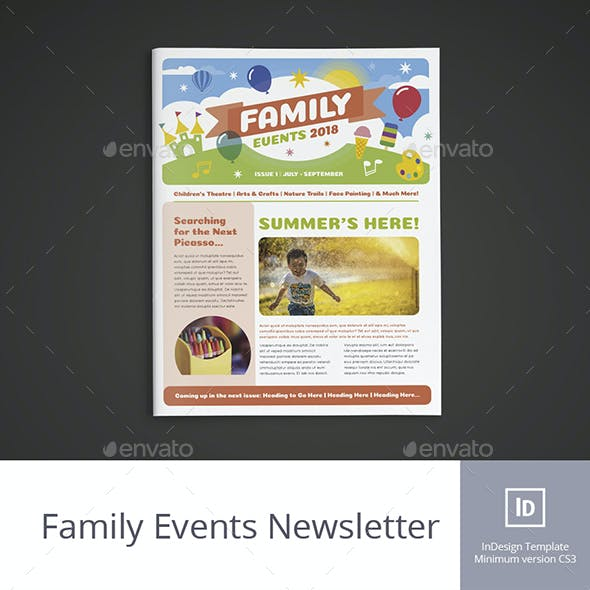Family Events Newsletter