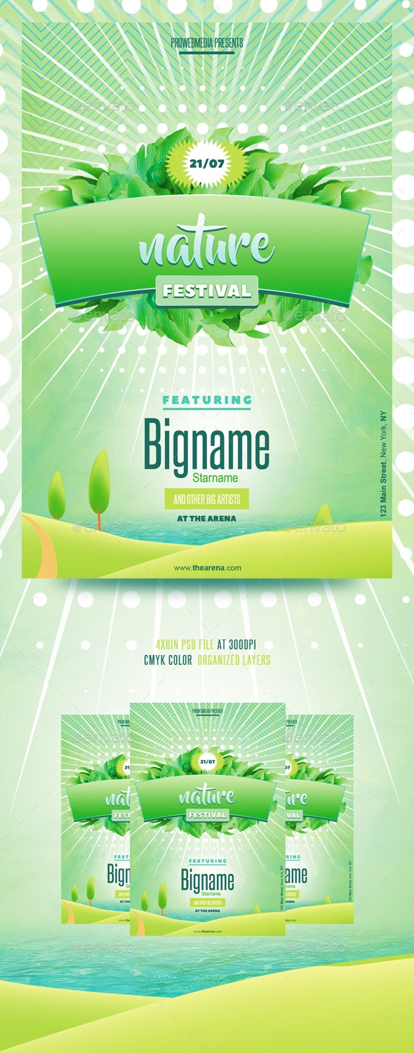 Nature Flyer Template - Events Flyers