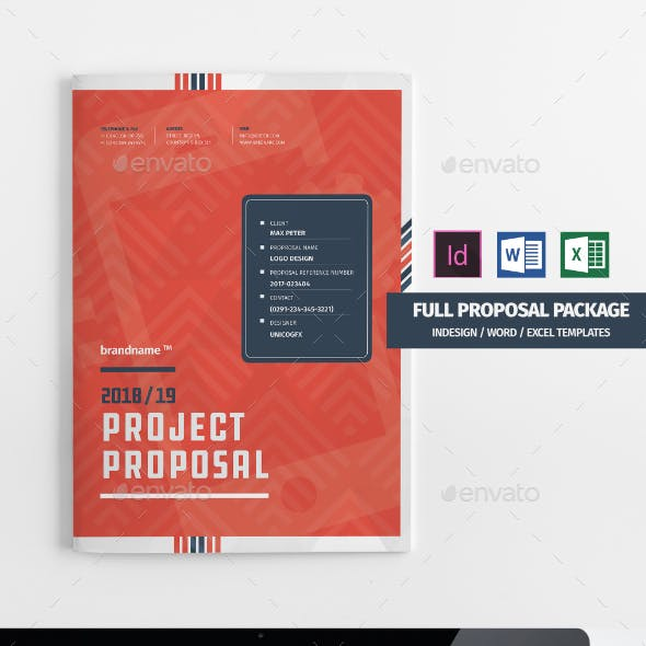 36 Page Full Proposal Package A4 / US Letter