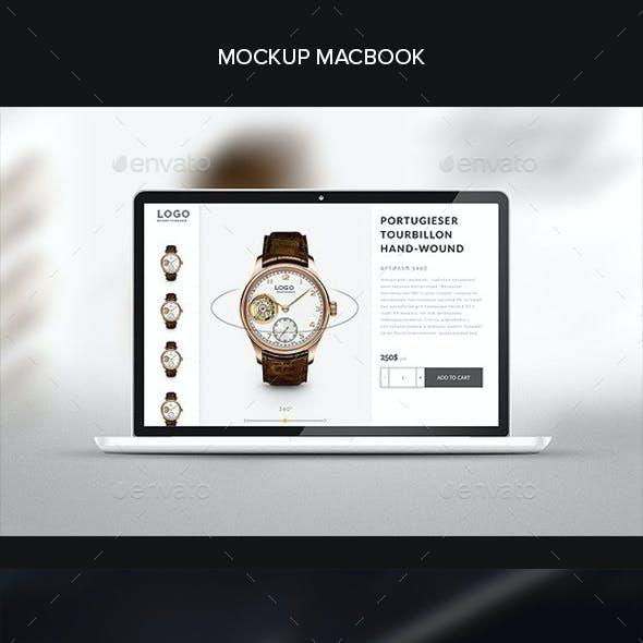Mockup Laptop