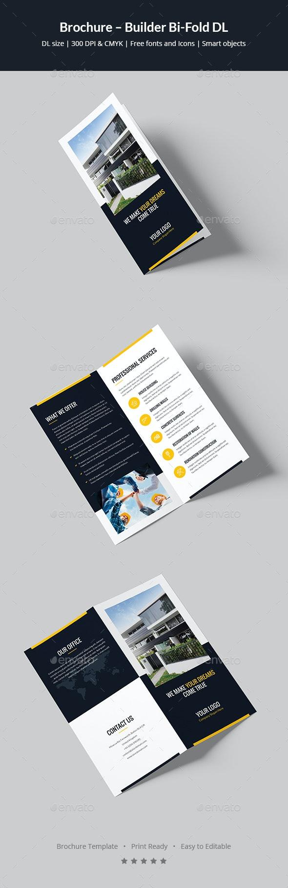Brochure – Builder Bi-Fold DL - Corporate Brochures