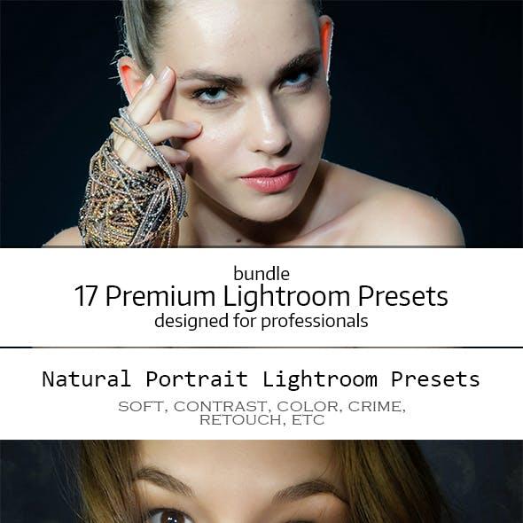 17 Premium Lightroom Presets Bundle
