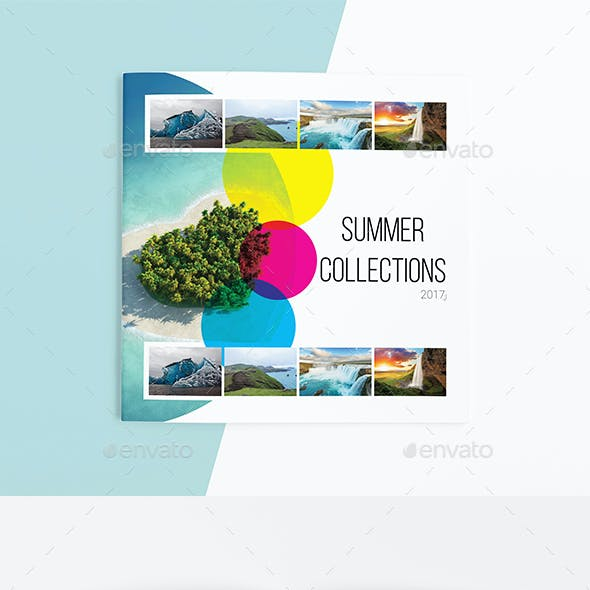Summer Collection Album 8 Pages