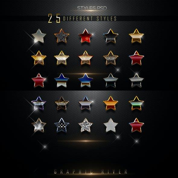 25 3D Text Styles N4