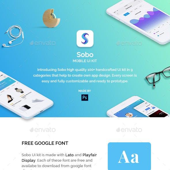 Sobo Mobile Ui Kit