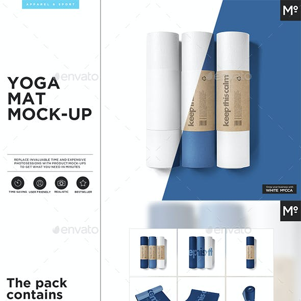 Yoga Mat Mock-up