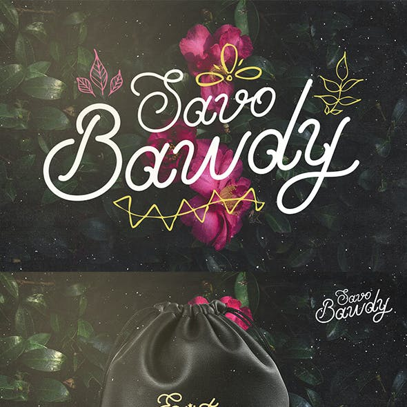 Savo Bawdy - Typeface